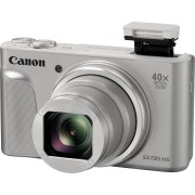 CANON SX730HS SI - Digitalkamera, 20MP, 40-fach Zoom, silber
