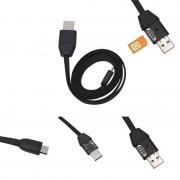 Microfon spion cu GSM ascuns in cablu de date