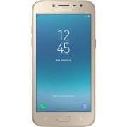 "Telefon Mobil Samsung Galaxy J2 Pro (2018), Procesor Quad-Core 1.4GHz, Super AMOLED Capacitive touchscreen 5.0"", 1.5GB RAM, 16GB Flash, 8MP, Wi-Fi, 4G, Dual Sim, Android (Auriu) + Cartela SIM Orange PrePay, 6 euro credit, 6 GB internet 4G, 2,000 minute na"