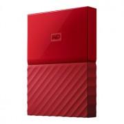 WD My Passport 4TB - USB 3.0 - Röd