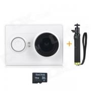 Camara Xiaomi Xiaoyi 16MP Deportes w / Monopod? Kit de viaje + 16GB TF - Blanco
