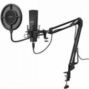 Настолен микрофон HAMA uRage Stream 800 HD Studio, Черен, HAMA-186020