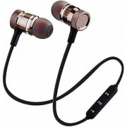 Deals e Unique Bluetooth Headphone wireless Magnet Excellent Sound and Controlling Buttons with Built-in Microphone