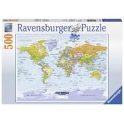 Puzzle Harta Politica A Lumii, 500 Piese Ravensburger