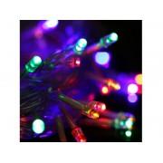 NTR LEDS08RGB RGB LED füzér 100xDIP LED 230V IP44 10m