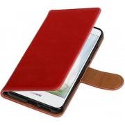 Huawei Nova Plus Hoesje Zakelijke Bookstyle Rood