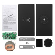 QI Power Bank DIY Case Kit Wireless Charging USB Type-C Port For Mobile Phone