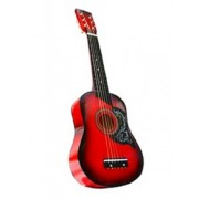 Red Acoustic Toy Guitar For Kids With Carrying Bag And Accessories & Directly Cheap(Tm) Translucent Blue Medium Guitar Pick