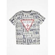 Guess T-Shirt Z Trójkątnym Logo