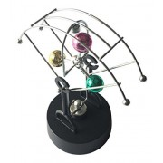 Lightahead Magnetic Swing Kinetic Art Balancing Toy in Perpetual Motion Decoration for Home & Office (Balance Balls)