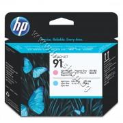 Глава HP 91, Light Magenta + Light Cyan, p/n C9462A - Оригинален HP консуматив - печатаща глава