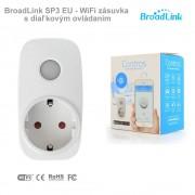 BroadLink SP3 EU - WiFi zásuvka s diaľkovým ovládaním