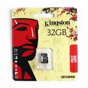 Kingston Micro SD SDHC Carte Memoire 32 Go sans adaptateur