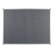 Polycolour Aluminium Framed Noticeboard 1200x900mm