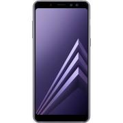 Telefon mobil Samsung Galaxy A8 DS Grey, model 2018, memorie 32 GB, ram 4 GB, 5.6 inch, Android 7.1.1 Nougat