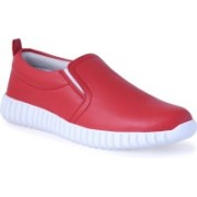 Shoe Bazzar Mens Red Casual Shoes Casuals For Men(Red)