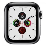 Apple Watch Series 5 (Cel) SOLAMENTE CUERPO, Acero Inoxidable Negro Esp, 40mm, C