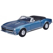 Motormax 1:24 1967 Chevy Camaro SS (Convertible) (American Classic Diecast Collection) (Metallic Blue)
