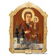 Máriapócsi Szűzanya Faplakett