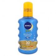 Nivea Sun Protect & Refresh Cooling Sun Spray latte in spray solare con effetto raffreddante SPF30 200 ml