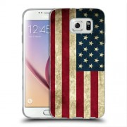 Husa Samsung Galaxy Note 5 N920 Silicon Gel Tpu Model USA Flag