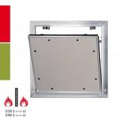 RUG Semin Alumatic Trennwand F/EI30 / F/EI/90 Reviklappe - 12,5 mm - F/EI/30 - 400 x 400 mm