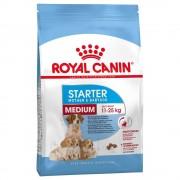 Royal Canin Size 2 x 12 kg Medium Starter Mother & Babydog Royal Canin - hundfoder
