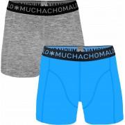 Muchachomalo Boxershorts 2er-Pack 300 - Blau Größe S