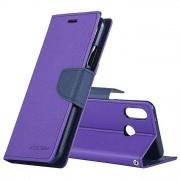 Mercury Pouzdro / kryt pro Huawei P20 - Mercury, Fancy Diary Purple/Navy