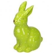 Geen Pasen groen Paashaas dierenbeeldje 15 cm - Action products