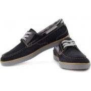 Clarks Solant Jax Boat Shoes For Men(Navy, Black, Grey)