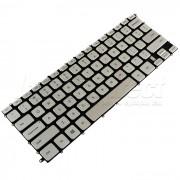 Tastatura Laptop Dell Inspiron 14 7437 argintie iluminata + CADOU