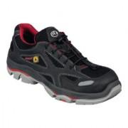 Stabilus Chaussure de sécurité 6130A T. 45 noir/rouge matériau textile / matériau mesh S1