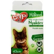 Dolly Bolha-Kullancs nyakörv Macska Sárga 43cm - 1x