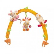 Arc jucarie vibratoare Vacuta Brevi Soft Toys