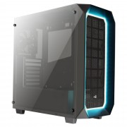 Caixa AEROCOOL PROJECT 7 ATX 10-COLOR , DOUBLE SIDED TEMPERED GLASS WINDOW, USB3.0 - P7C0