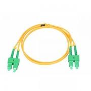 NFO Patch cord, SC APC-SC APC, Singlemode 9 125, G.657A1, 3mm, Duplex, 5m NFO-PCDSM-15083