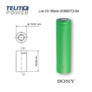 Li-Ion 3.6V 1600mAh US18650VTC3-30A Sony VTC3