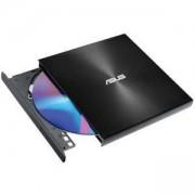 Външно USB DVD записващо устройство ASUS ZenDrive U9M Ultra-slim, USB Type-C, USB 2.0, Черен, DVD-RW-ASUS-08U9M-U-BLK