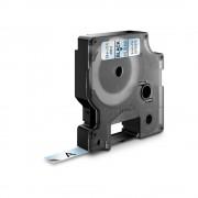 Etichete autocolante DYMO LabelManager D1 9mm x 7m negru transparent 40910 S0720670