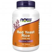 Now Foods Červená Rýže (Red Yeast Rice) 1200 mg 120 tablet - 120 tablet
