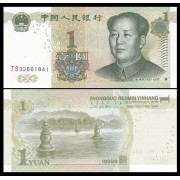 China 1999 - 1 yuan, necirculata