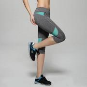 3/4 Pantalones De Jogging Pantalon Yoga Mujer Deportivas Fitness Mallas Running Gym