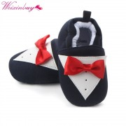 Cute Newborn Baby Girls Bowknot Winter Warm First Walkers Soft Soled Infant Toddler Kids Girl Shoes 3 Colors