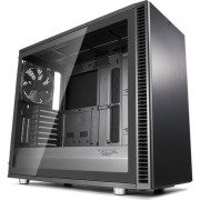 Carcasa Fractal Design Define S2 Gunmetal Tempered Glass, ATX Mid Tower, fara sursa, Gri