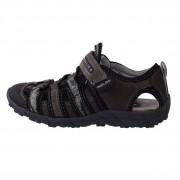 Sandale copii, din piele naturala, marca sOliver, 5-34212-26-14, gri