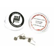 MK Coils - Fused Clapton MTL Coil 0.75 Ohm Ni80 - 4 бр