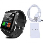 Limited Edition U8 GSM Sim Enabled Bluetooth Smart Watch for Android and iOS - White