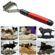 Dog Cat Grooming Comb Brush Pet Knot Cutter For Hair Matted