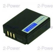 2-Power Digitalkamera Batteri Panasonic 3.7v 1000mAh (CGA-S007)